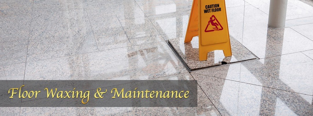 floor waxing and commercial building maintenance services in allentown pa